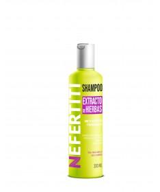Shampoo con extracto de hierbas PARA USO FAMILIAR 300ml